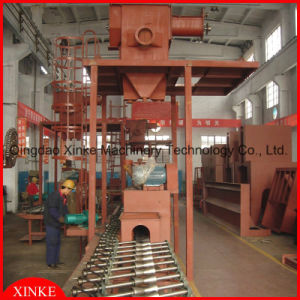 Sandblasting Machine for Cleaning Steel Pipe pictures & photos