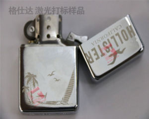 Stainless Steel Fiber Laser Marking Machine with Ce, ISO Fol-20 pictures & photos