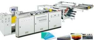 Highly Active Low-Energy Plastic PC Hollow Grid Sheet Machine pictures & photos