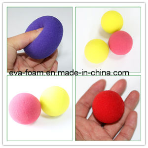 Colorful Soft Feeling Light Weight Magic Red Foam Sponge Ball Trick pictures & photos