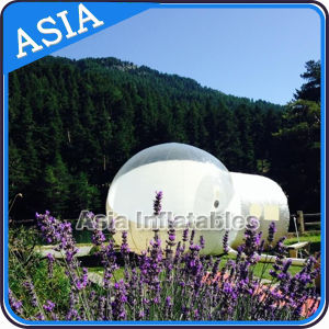 Transparent Inflatable Bubble Tent with 2 Tunnels / Inflatable Bubble Tent pictures & photos