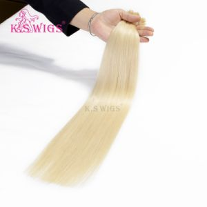 Brazilian Virgin Remy Keratin Hair Extensions with Italy Glue pictures & photos