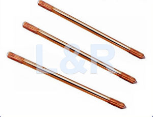 Pole Line Hardware Chemical Solid Copper Clad Steel Earth Rod pictures & photos
