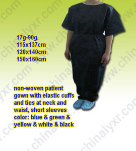 Disposable Medical Patient Gown (LY-NP-NB) pictures & photos