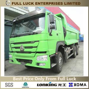 HOWO 336HP 10 Wheels U-Type Dump Truck for Construction