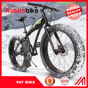 New Modle Popular Snow Fat Bike/ Snow Ski Bike China / Fat Tire Bikes with Double Fork Suspension pictures & photos