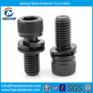 DIN912 Steel Socket Bolt and Screw in Galvanised (Assembly bolt) pictures & photos