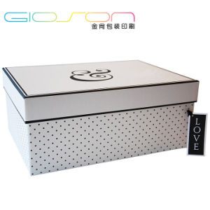 DOT Patterened Paper Gift Box/ Packaging Box Printing pictures & photos