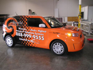 Custom Printed Vinyl Wrap Gloss Full Color Car Body Sticker pictures & photos