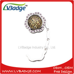 Fashion Foldable Bag Hanger with Shiny Stone pictures & photos