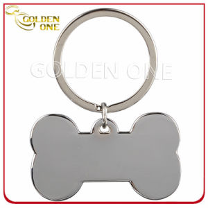 Personalised Dog Bone Shape Blank Metal Key Tag pictures & photos