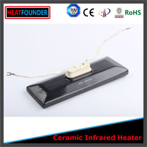 White Pad Shape Infrared Ceramic Heater Radiator pictures & photos
