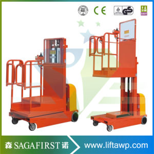 3.0m to 4.5m Full Electric Automated Stock Order Picker Orderpicking pictures & photos