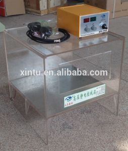 Portable 3D Glass Box Nylon Electrostatic Flocking Machine & Equipment pictures & photos