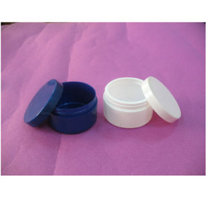 100ml Plastic Cylinder PE Cosmetic Jars pictures & photos