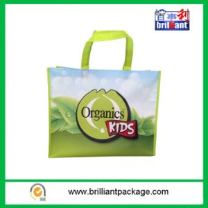 PP Woven Laminated Tote Handle Bag with Organic Products pictures & photos