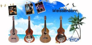 Aiersi Brand Acoustic Weissenborn Hawaiian Guitar pictures & photos