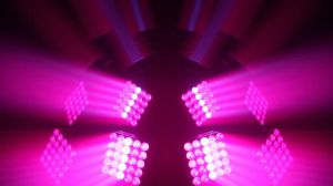 Guangzhou Supplier 5*5 LED DMX Control Moving Head Matrix Stage Lighting pictures & photos