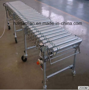 Speed Adjustable Electric Retractable Conveyor/Flexible Conveyor pictures & photos