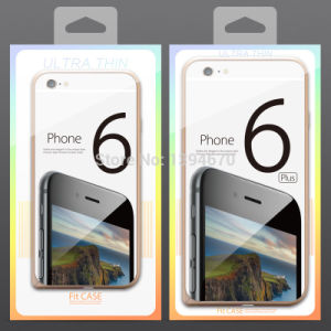 Clear PVC Mobile Phone Case Packaging with Handle pictures & photos