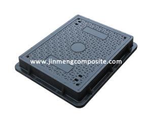 En124 D400 Anti-Skid Design SMC Manhole Cover (Dia 600X450mm) pictures & photos