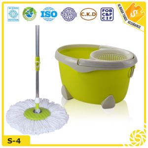 Hot Sales New Design 360 Spin Microfiber Mop (s-4) pictures & photos