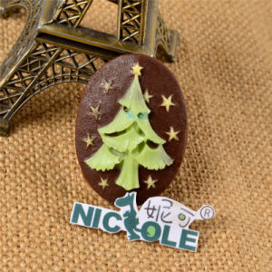 F0003 Christmas Tree Shape Silicone Fondant Mold for Cake Decoration