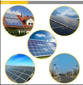 100W Polycrystalline Solar Panel with TUV/CE Certificate pictures & photos