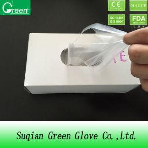 Clear Cheap Cast Polyethylene Gloves pictures & photos