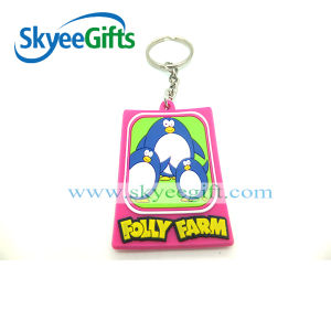 Supply Hot Sale Custom Soft PVC Keychain pictures & photos