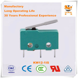 Lema 5A Green Straight PCB Quick Connect Terminal Kw12-1is Micro Switch pictures & photos
