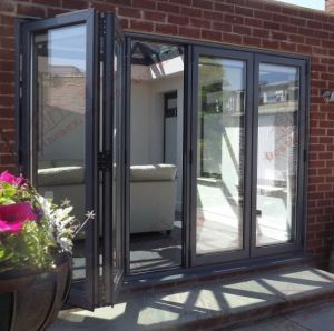 Wholesale Manufacturer of High Quality PVC Bi-Folding Door (BHP-AD02) pictures & photos