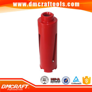 Vacuum Brazed Dry Tile Drilling Diamond Core Drill Bit pictures & photos
