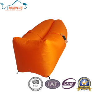 Most Popular Inflatable Lazy Sleeping Bag for Travelling pictures & photos