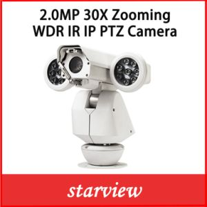 2.0MP 30X Zooming Network IP WDR IR PTZ IP67 Camera pictures & photos