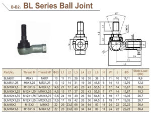 Forged Ball Joint for Pneumatic Cylinder pictures & photos