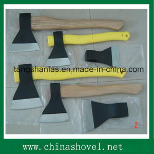 Axe Russian Style Axe with Wood Handle Plastic Coating Handle pictures & photos