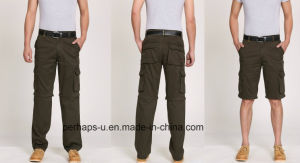 Cool Mens Multifunctional Detachable Cotton Cargo Pants pictures & photos
