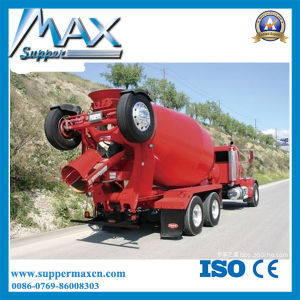 336HP 9cbm Shacman Concrete Mixer Truck for Algeria pictures & photos