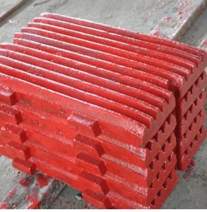 Sanbao Brand High Manganese Steel Fixed/Movable Jaw Plate