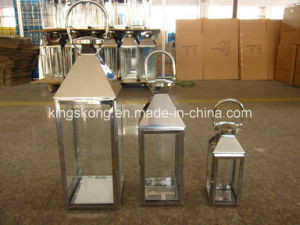 Garden Stainless Steel Metal Candle Lantern pictures & photos