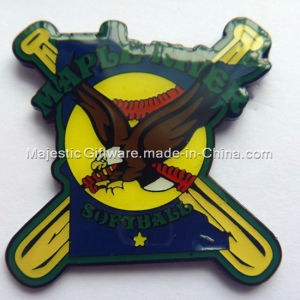 Soft Enamel & Epoxy Baseball Pin pictures & photos