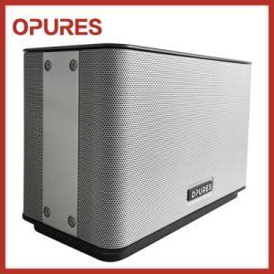 Professional Audio Wireless WiFi Wood Home Theatre Portable Desktop Speaker