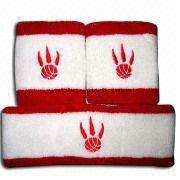 Customized Cotton Terry Sports Wristband/Headband pictures & photos