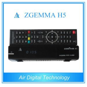 Super Efficient CPU Zgemma H5 Sat Receiver Bcm73625 Dual Core Hevc/H. 265 DVB-S2+T2/C Twin Tuners pictures & photos