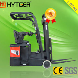 1000kg 3-Wheel New Battery Operated Electric Forklift Full Free Lifting pictures & photos