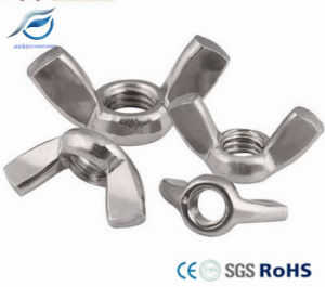 DIN315 Stainless Steel 304 Steel Wing Nut, Hinged Bolt pictures & photos