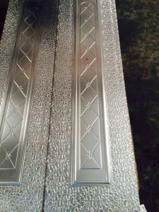 Diamonds Design Steel Door Skin (RA-C016) pictures & photos