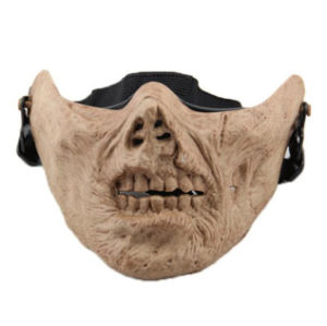 Halloween M05 Half Face Protective Mask in Zombie-Flesh Ulcer pictures & photos