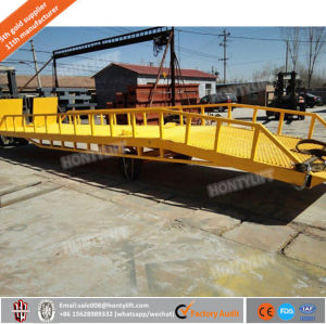 Yard Ramps for Loading and Unloading Container Mobile Dock Ramp pictures & photos